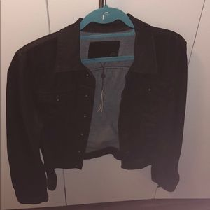 AG Black Jean Jacket